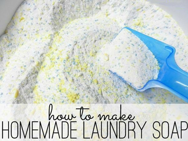 Homemade Laundry detergent: so easy to make and it works perfectly! Great money saver